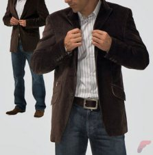 Men sport coat with jeans (97)