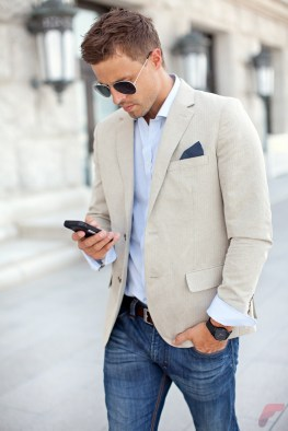 Men sport coat with jeans (99)