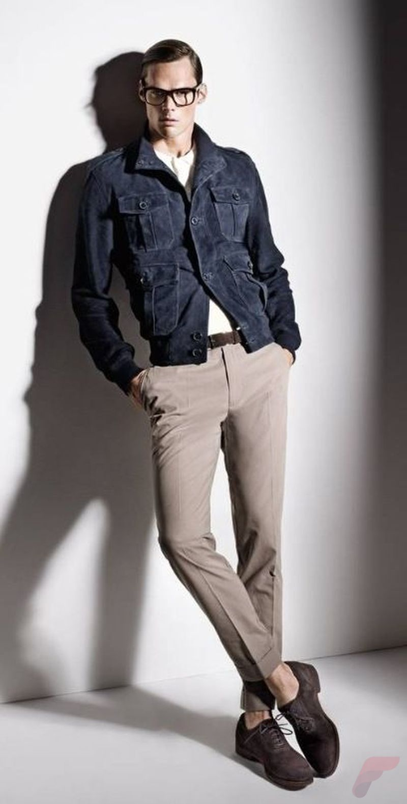 Men spring casual jacket 8