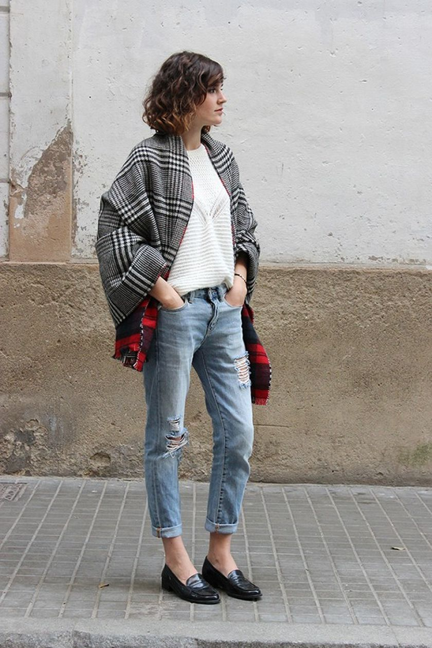 Simple casual french style outfits 3