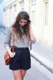 Simple casual french style outfits 37