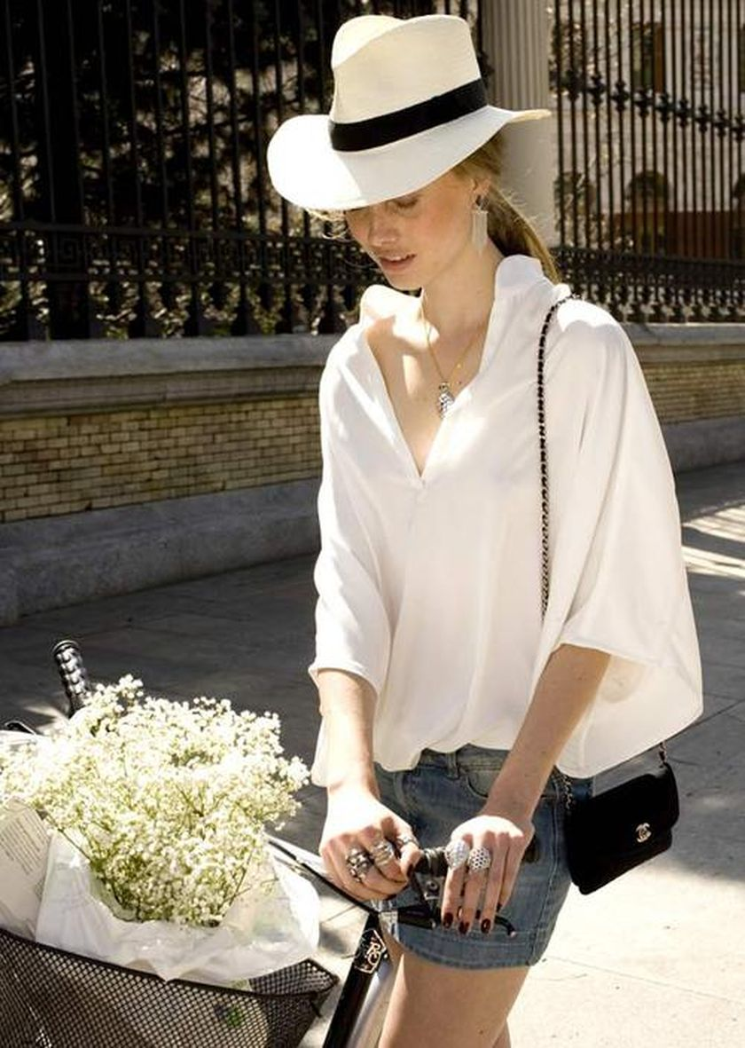 Simple casual french style outfits 71