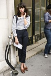 Simple casual french style outfits 8