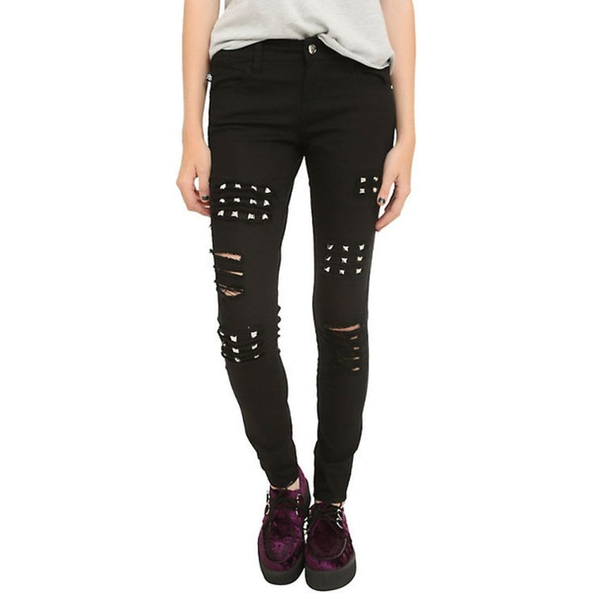 Skinny ripped jeans that will make you rock 16