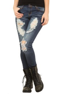 Skinny ripped jeans that will make you rock 22