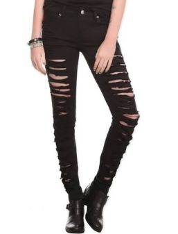 Skinny ripped jeans that will make you rock 23