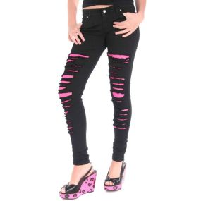 Skinny ripped jeans that will make you rock 3