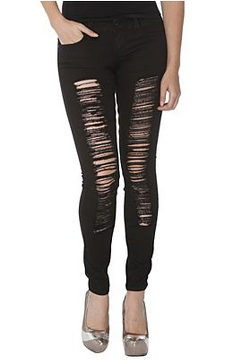 Skinny ripped jeans that will make you rock 37