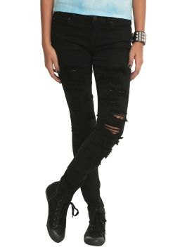 Skinny ripped jeans that will make you rock 41