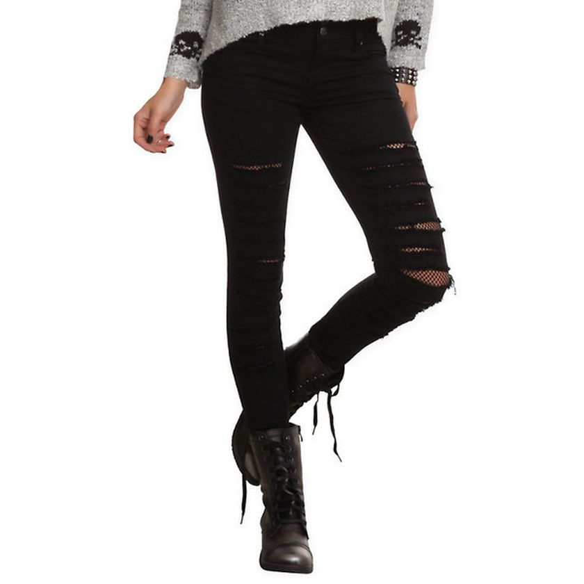 Skinny ripped jeans that will make you rock 46
