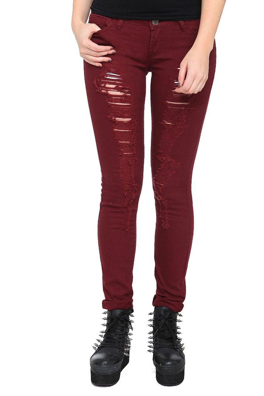 Skinny ripped jeans that will make you rock 6