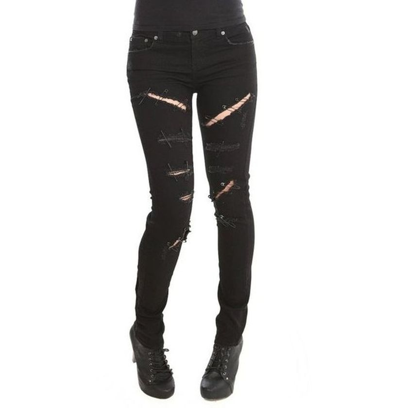 Skinny ripped jeans that will make you rock 7