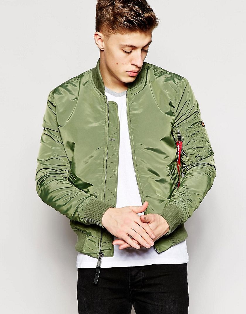 Top best model men bomber jacket outfit 100