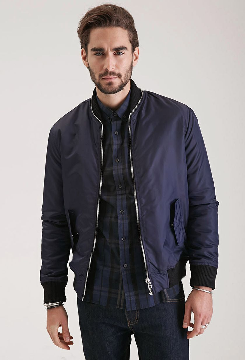 Top best model men bomber jacket outfit 112