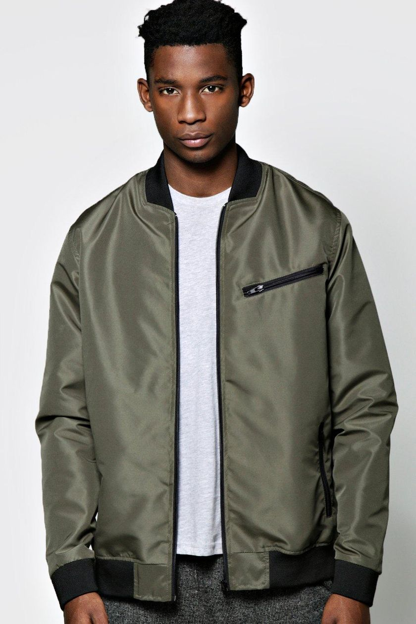 Top best model men bomber jacket outfit 16