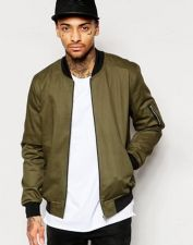 Top best model men bomber jacket outfit 27
