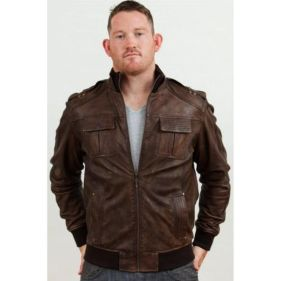 Top best model men bomber jacket outfit 42