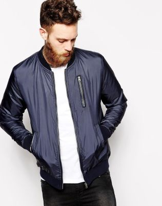 Top best model men bomber jacket outfit 61