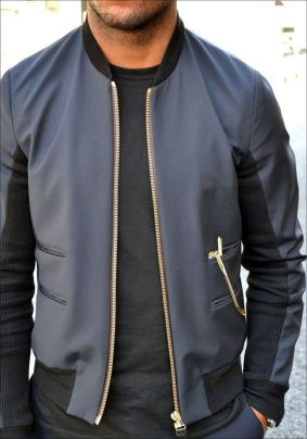 Top best model men bomber jacket outfit 75