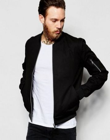 Top best model men bomber jacket outfit 94