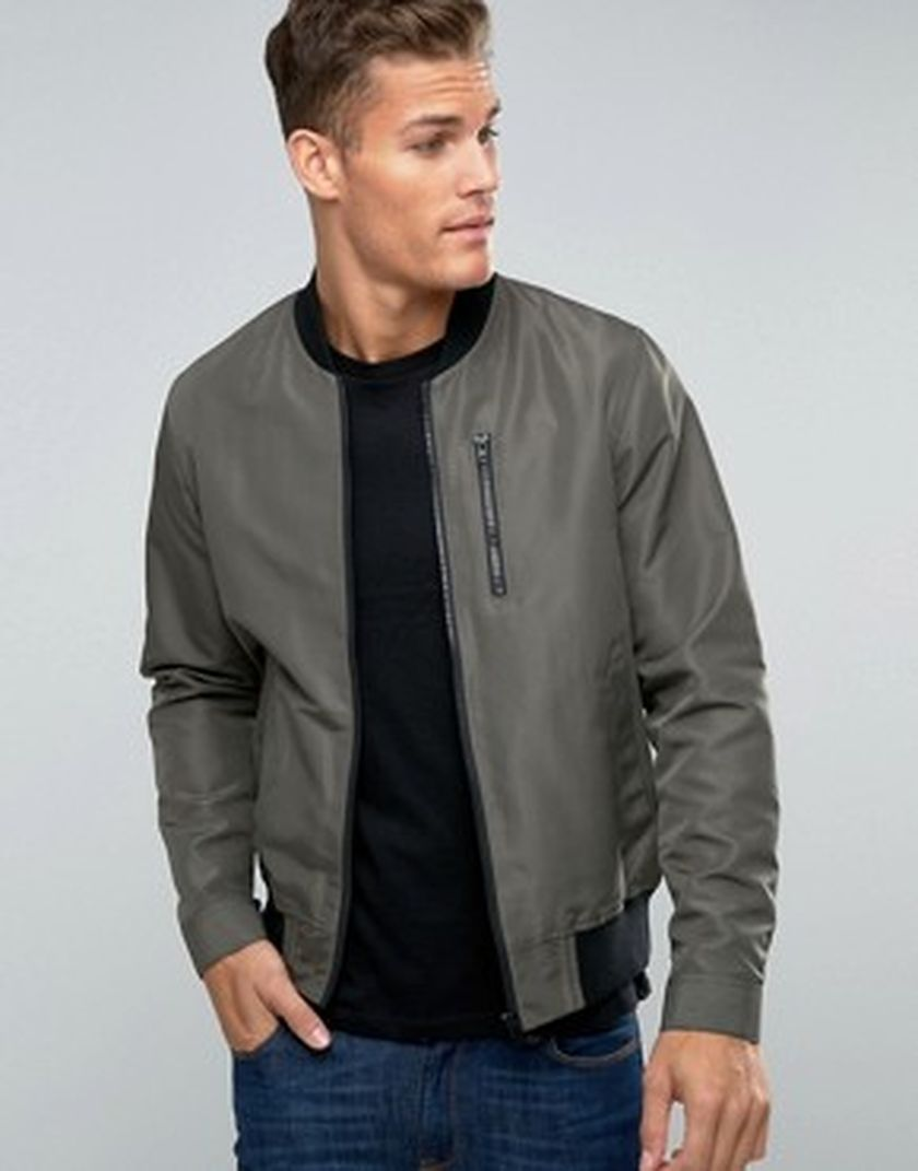 Top best model men bomber jacket outfit 96