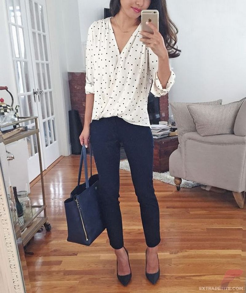 Women white shirt for work (245)