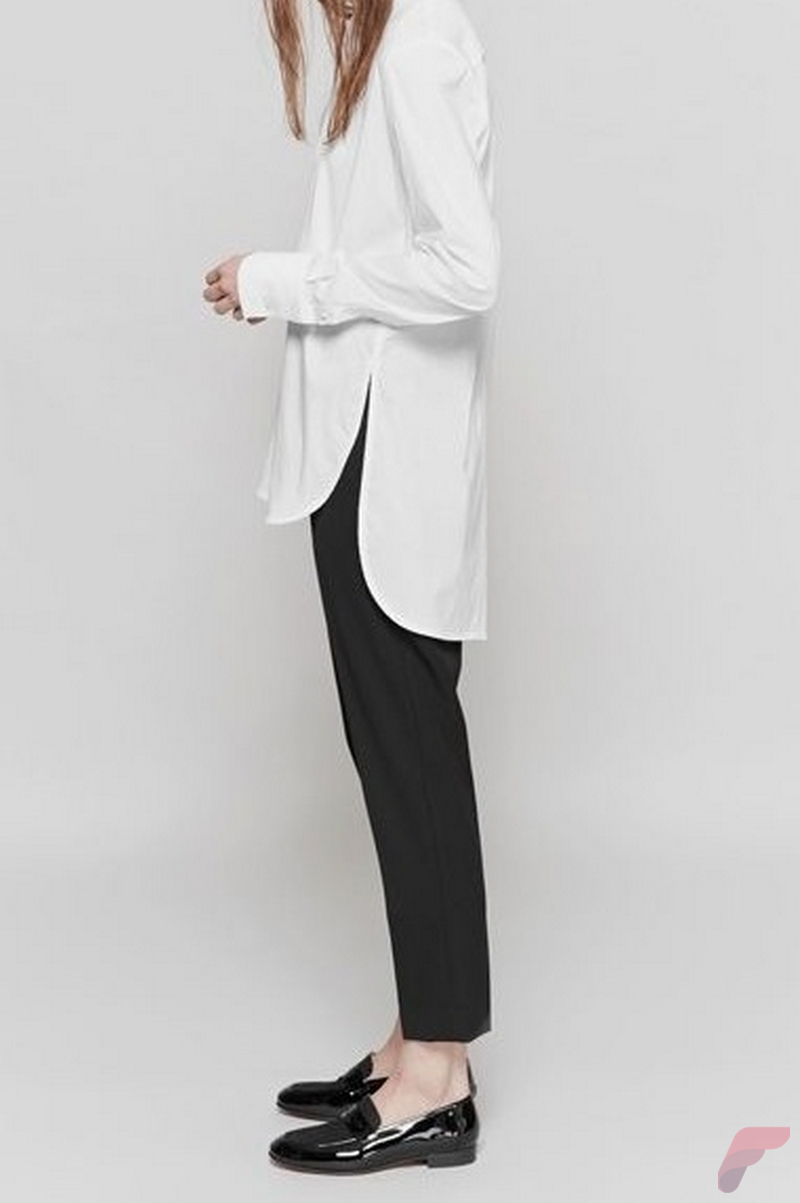 Women white shirt for work (299)