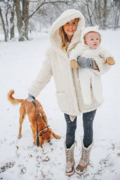 Adorable skiing outfit for your lovely kids 18