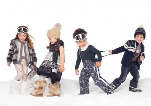 Adorable skiing outfit for your lovely kids 3