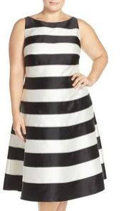 Amazing plus size striped dress outfits ideas 67