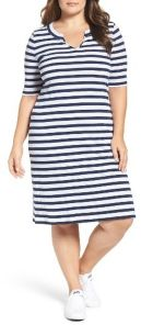 Amazing plus size striped dress outfits ideas 69