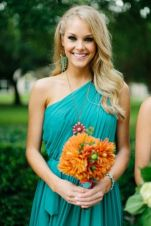 Awesome elegance turquoise bridesmaid dress 14