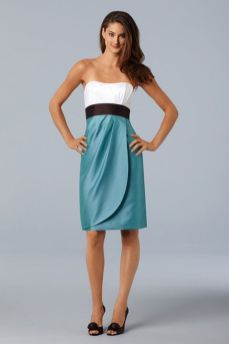 Awesome elegance turquoise bridesmaid dress 3 1
