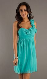 Awesome elegance turquoise bridesmaid dress 43