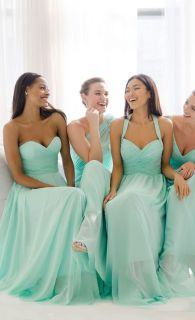 Awesome elegance turquoise bridesmaid dress 54