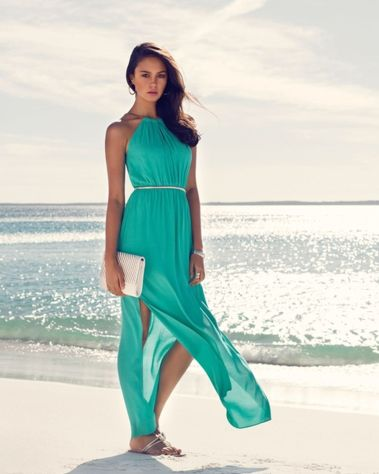 Awesome elegance turquoise bridesmaid dress 7