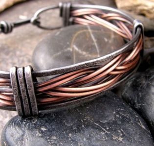 Awesome handmade bracelet for men 65