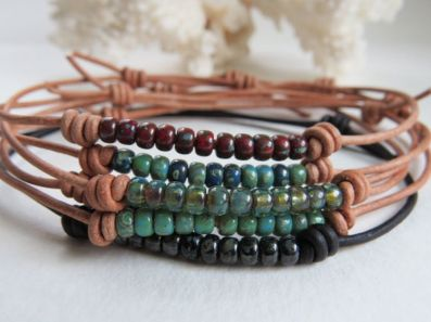 Awesome handmade bracelet for men 66