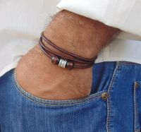 Awesome handmade bracelet for men 77