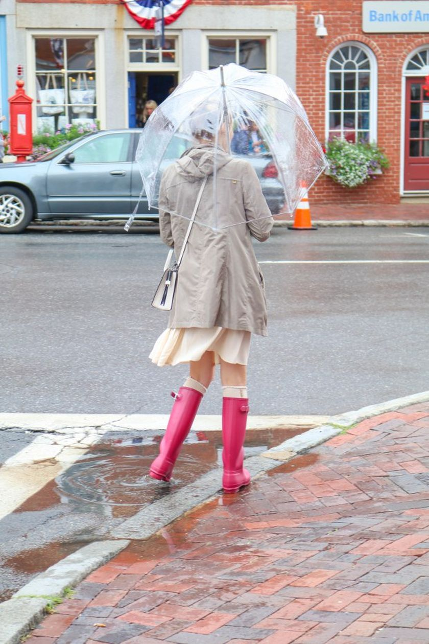 Awesome rainy day outfit style 2