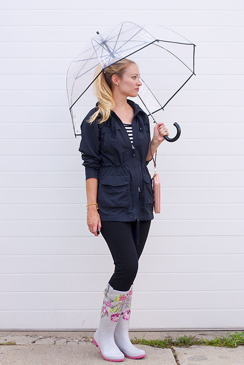 Awesome rainy day outfit style 20