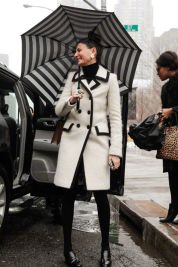Awesome rainy day outfit style 21