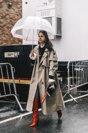 Awesome rainy day outfit style 23