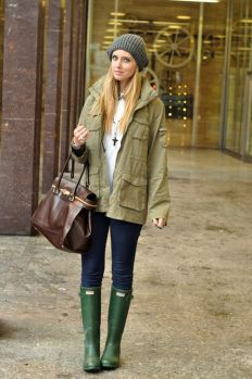 Awesome rainy day outfit style 33