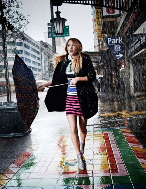 Awesome rainy day outfit style 39