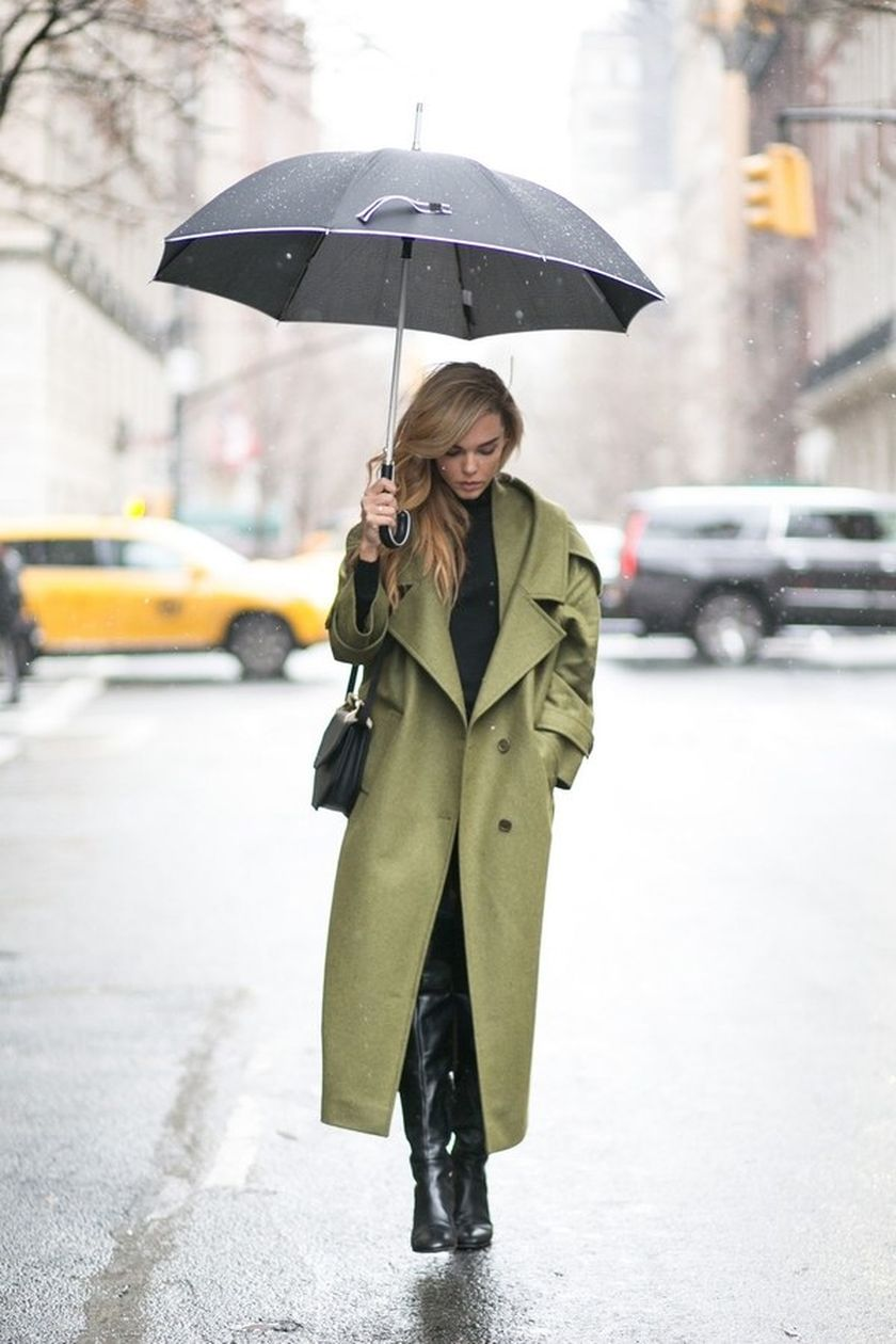 Awesome rainy day outfit style 4