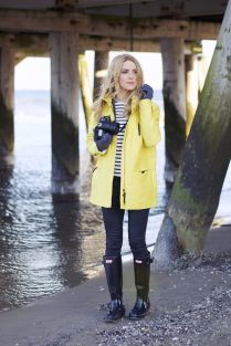 Awesome rainy day outfit style 46