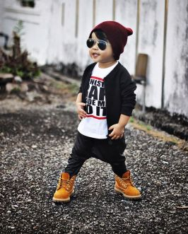 Cool boys kids fashions outfit style 82