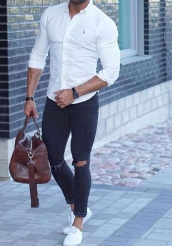 Cool mens gym and workout outfits style 16