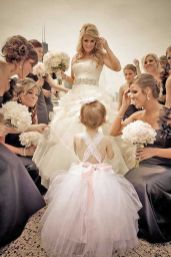 Cute bridesmaid dresses for little girls ideas 18